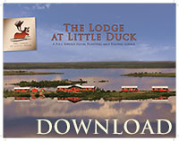 The Lodge at Little Duck - Hunting and Fishing Brochure