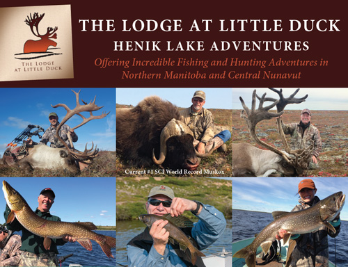 Manitoba Hunting & Fly-in Fishing - The Lodge at Little Duck